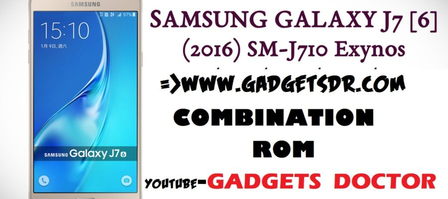 Samsung J7 2016 SM-J710FN Stock Rom / Stock Firmware / Flash File