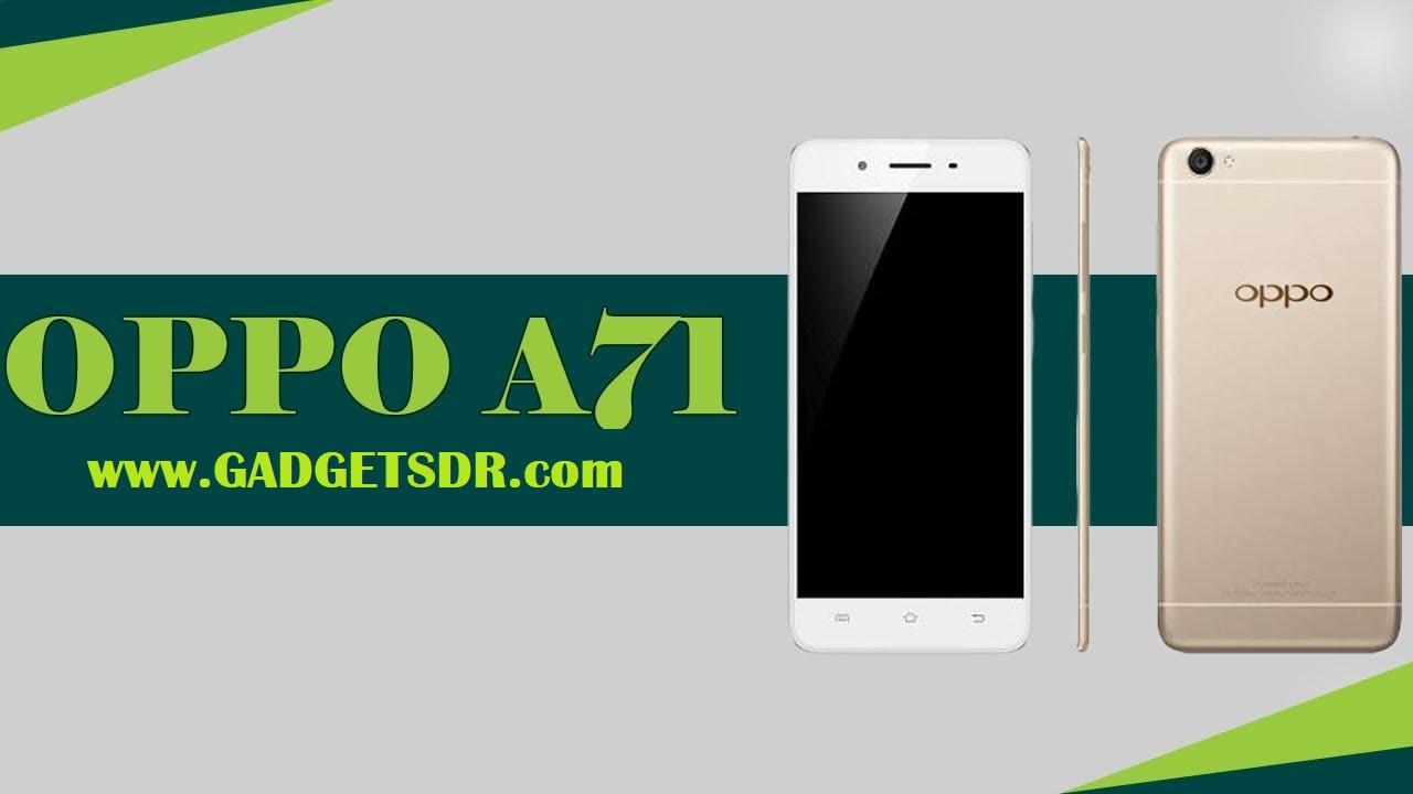 Oppo A71 Remove Lock Screen