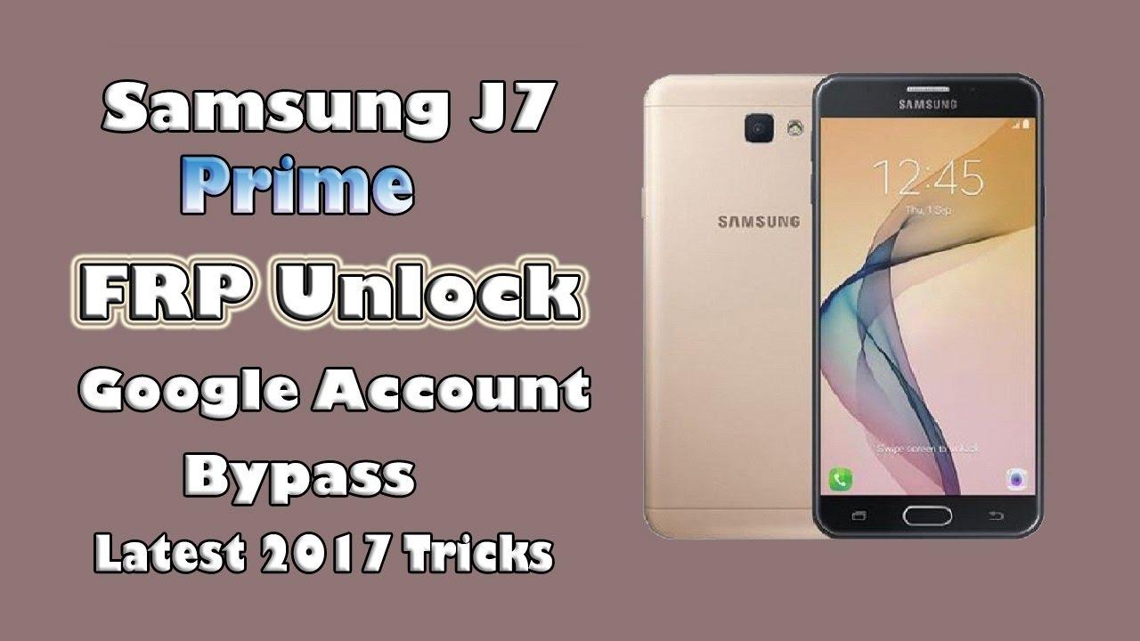 Samsung J7 Prime SM-G610F FRP (FRP TOOL)