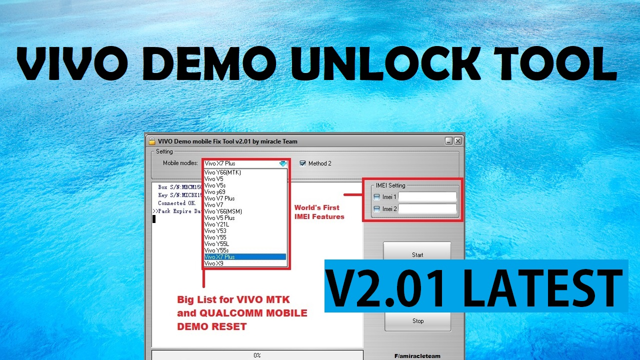 Miracle Box VIVO Demo Fix Tool 2 01 crack Archives - GSM Doctor