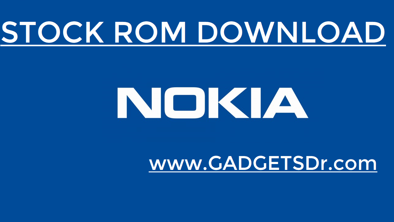 Nokia 6 TA-1003 Stock Rom - Stock Firmware