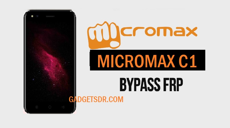 Bypass FRP Micromax C1 With SP Tool -2018
