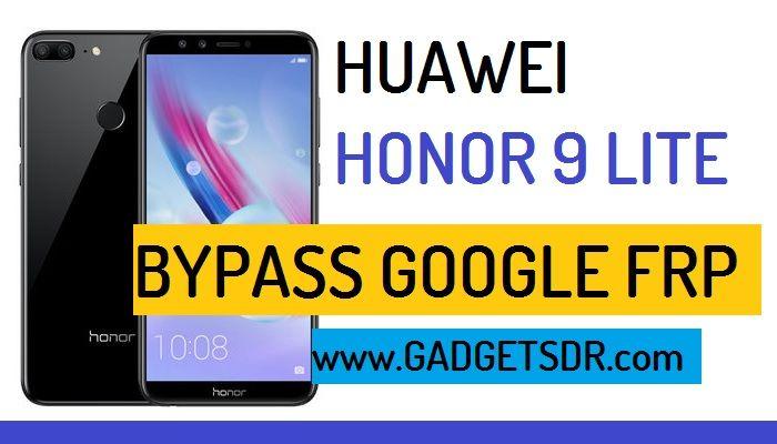 Bypass Google Account Huawei Honor 9 lite
