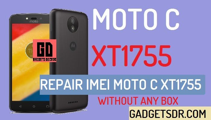 Repair IMEI MOTO C XT1755 (Without Box)