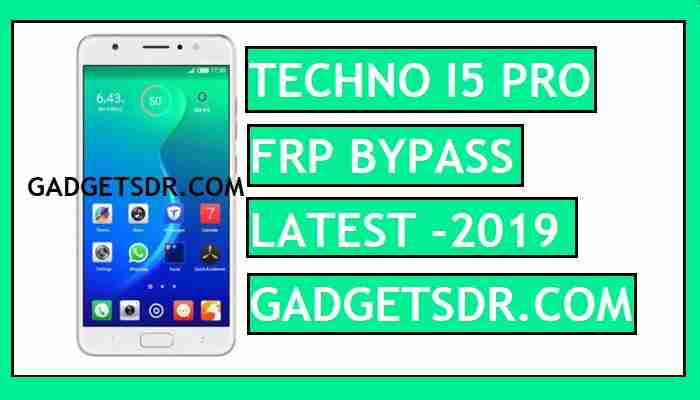 FRP Bypass Techno I5 Pro With FRP File - Without Full Flasing One Click