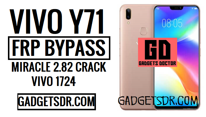 Bypass FRP Vivo Y71 (Vivo 1724 FRP Unlock) latest without