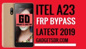 Unlock FRP Itel A23,Bypass FRP Itel A23