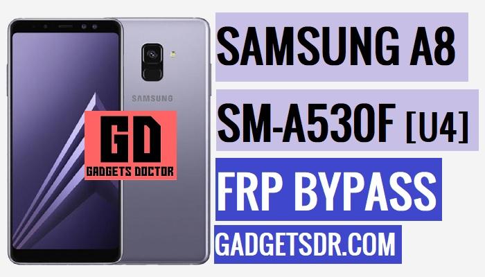 Bypass FRP Samsung A8 2018,SM-A530F FRP Remove