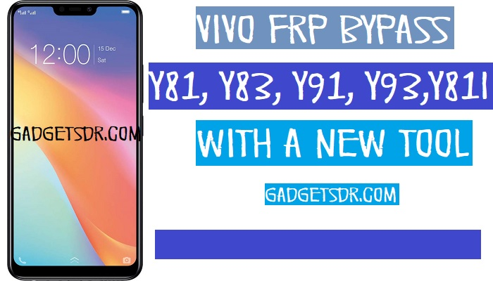 Bypass FRP Vivo Y81i (Vivo 1812 FRP Unlock)- Without PC