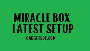 MIRACLE BOX THUNDER LATEST SETUP