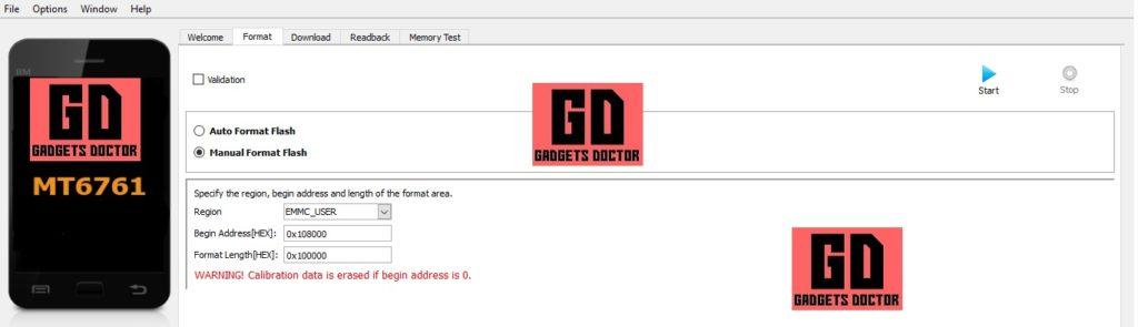 Format device Infinix FRP Bypass / unlock Gmail