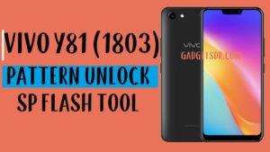 Vivo Y81 Pattern Unlock
