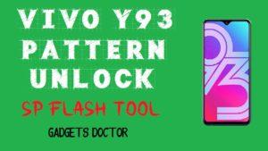 Vivo Y93 Pattern Unlock