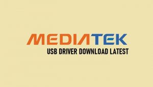 Download MTK USB Drivers (all versions) Latest