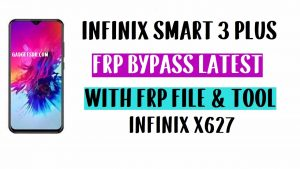 Infinix X627 FRP Bypass- Unlock GMAIL With FRP File and Tool