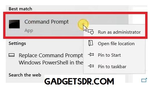 Run CMD to Xiaomi MTK FRP Bypass Unlock