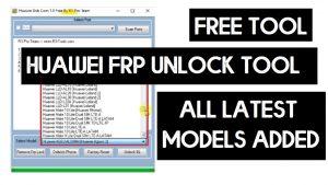 R3 Pro Huawei USB COM 1.0 Tool - Huawei FRP Bypass Tool