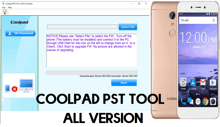 Download Coolpad PST Tool for Windows (32 & 64 bit) Free (All Version) 2021