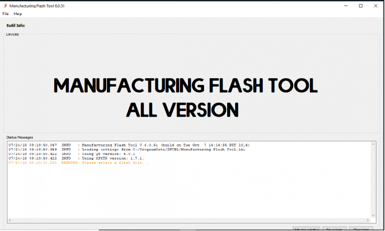 Download Manufacturing Flash Tool for Windows (32 & 64 bit) All Versions
