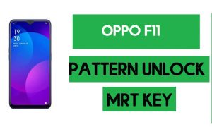 OPPO F11 Pattern Unlock (Remove Screen Lock) with MRT Key