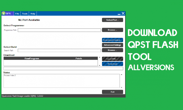 Download QPST Flash Tool for Windows (32 & 64 bit) All Versions