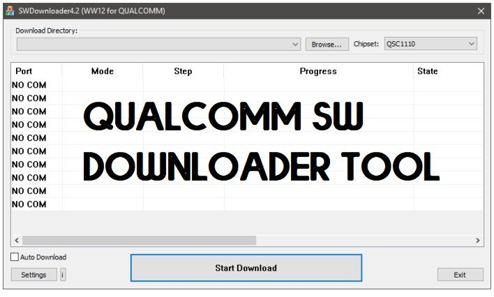 Download Qualcomm SW Downloader for Windows (32 & 64 bit) All Versions