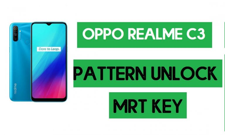 Realme C3 (RMX2020) Pattern Unlock (Remove Screen Lock) with MRT Key