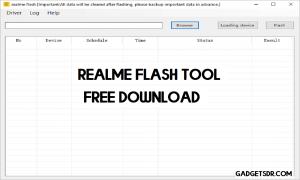 Download Realme Flash Tool for Windows (32 & 64 bit) Free (All Version) 2021
