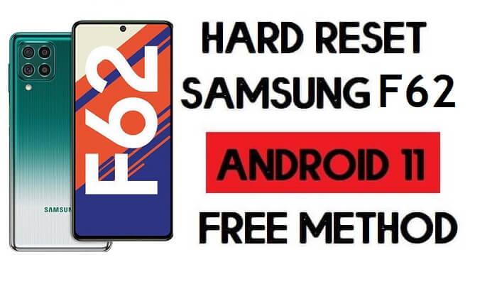 Hard Reset Samsung F62 Remove Password/Pattern Lock [Android 11]