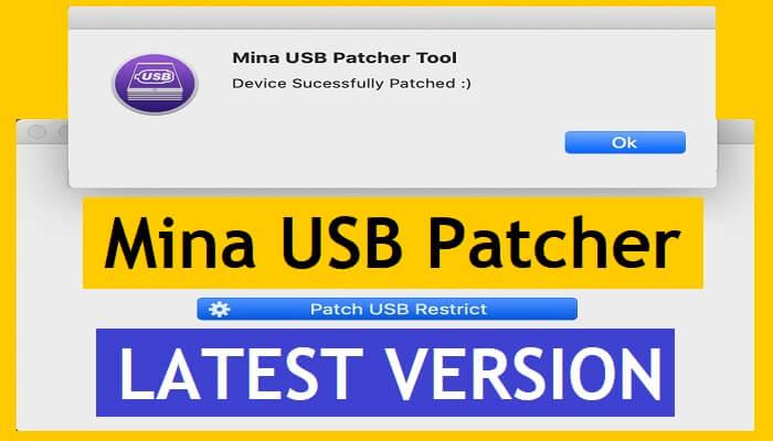 Mina USB Patcher Tool V1.1 for MAC FREE Version | Jailbreak Device New Way