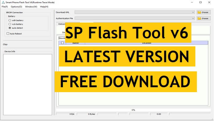 SP Flash Tool v6.2124 Latest Version With New UI Free Download for Windows