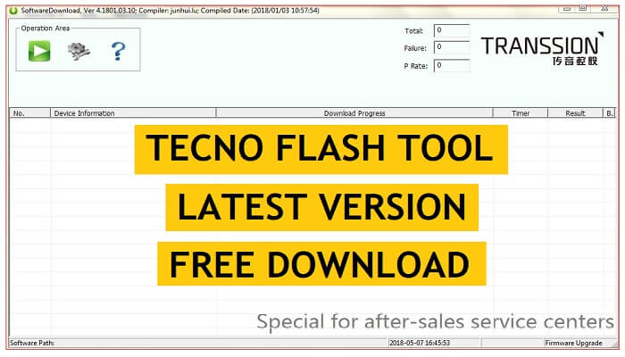 Tecno Flash Tool V5, V4 Download | All Version Latest Setup for Windows 2021