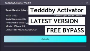 Download Tedddby Activator 5.0.1 Free Untethered iCloud Bypass MEID/GSM Latest Version