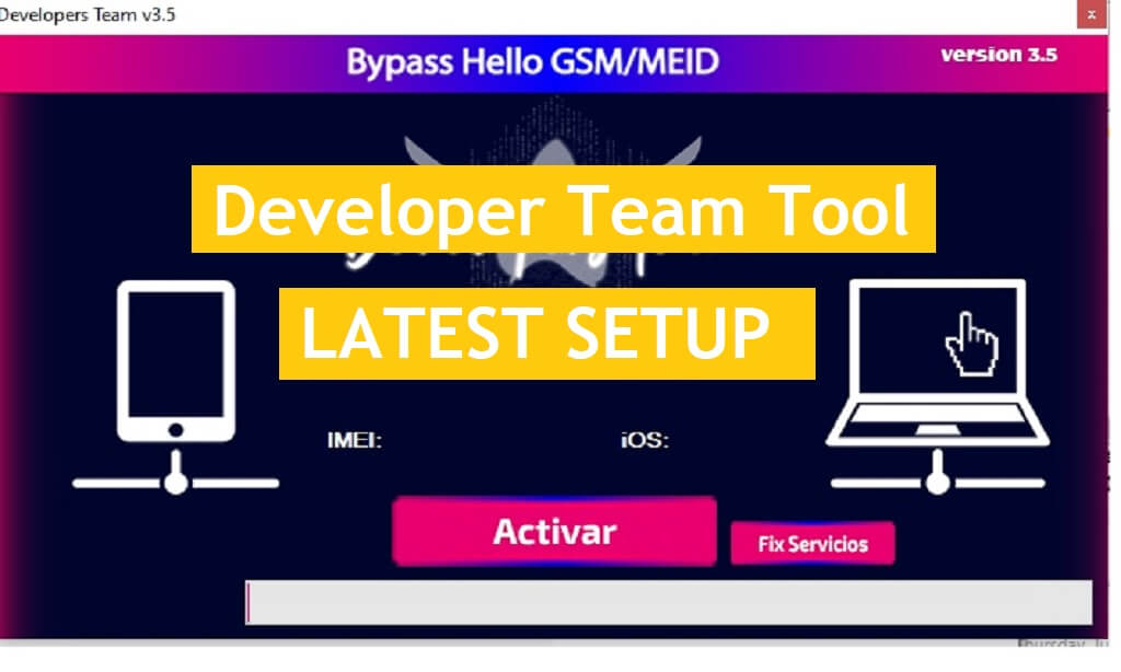 Download Developer Team Tool V3.5 Open Menu FMI OFF with a proxy for all activated devices