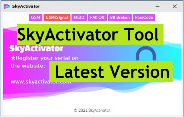 Download Download SkyActivator Tool - GSM iCloud Bypass with SIGNAL for FREE Latest VersionTool - GSM iCloud Bypass with SIGNAL for FREE Latest Version