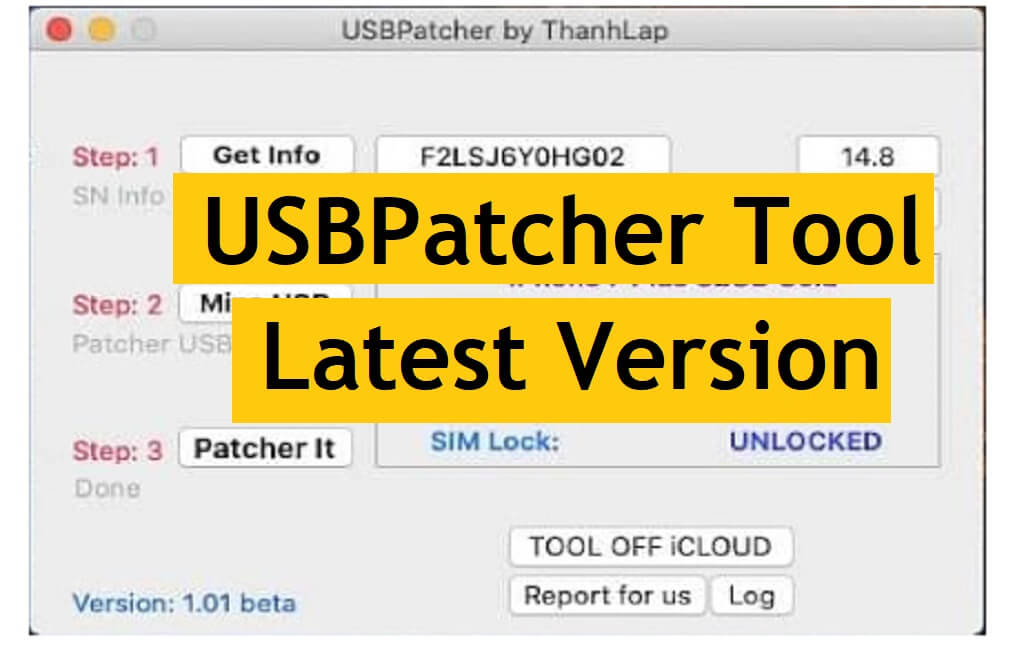 Download USBPatcher Tool V1.0.1 By ThanhLap for MAC Latest Version Free