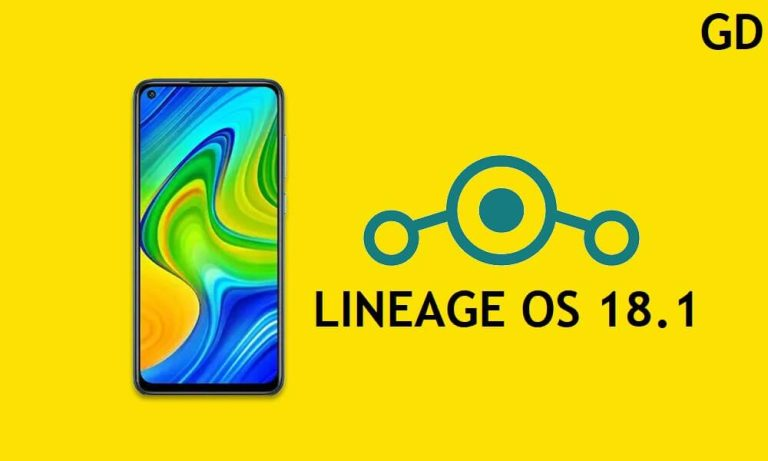 Download LineageOS 18.1 Android 11 on Xiaomi Redmi Note 9S install Via TWRP