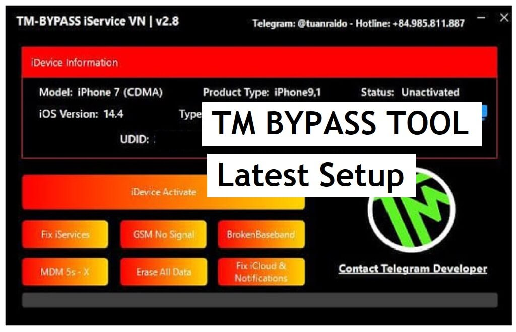 Tm Bypass Tool v2.8 Download Free For Windows